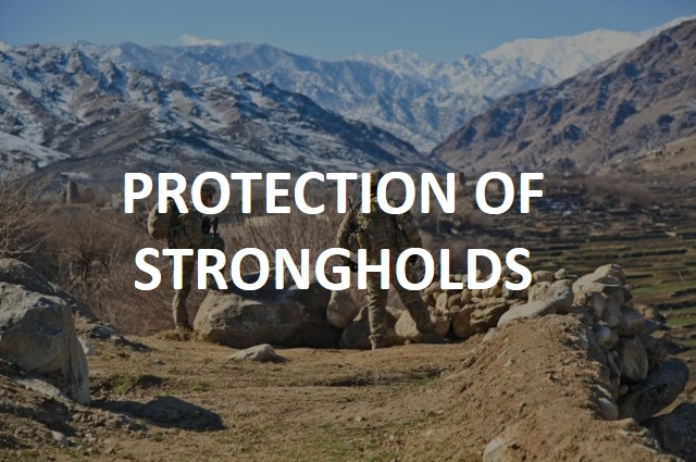 protection of strongholds